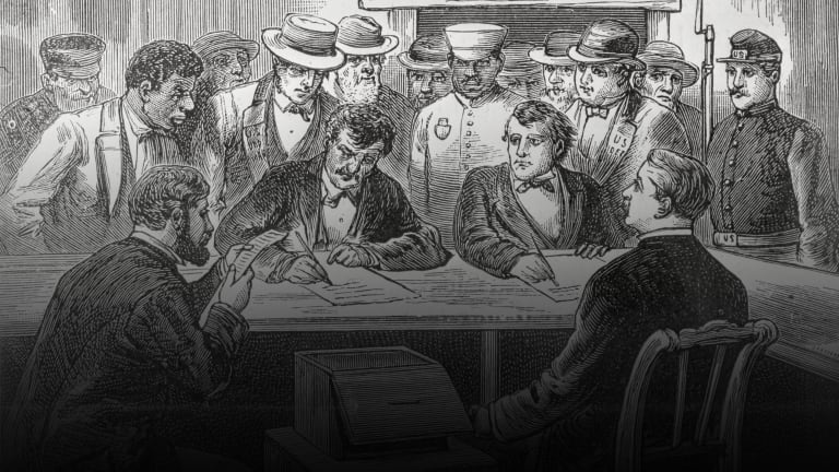 How the 1876 Election Tested the Constitution and Effectively Ended Reconstruction