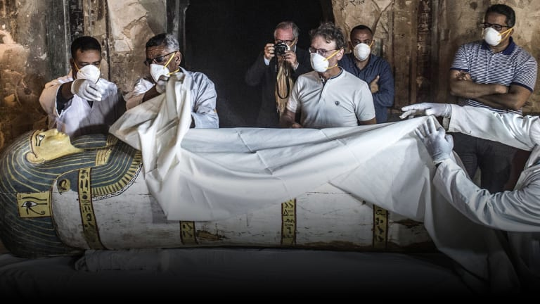 3,000-Year-Old Egyptian Mummy Unveiled in Near-Perfect Condition