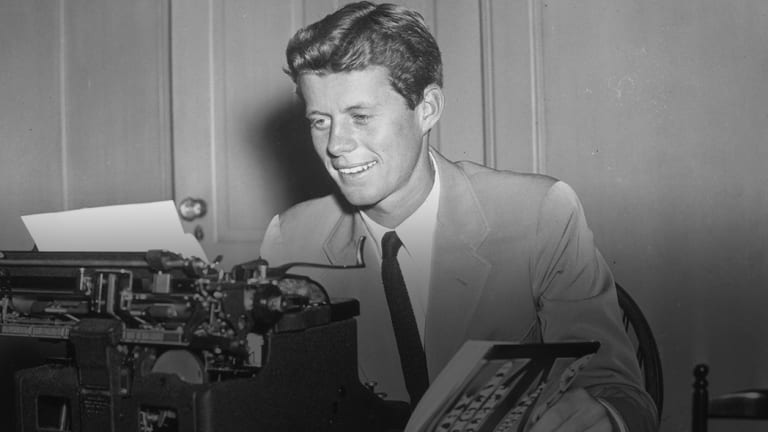 How JFK's Brief Stint as a WWII Journalist Influenced His Presidency