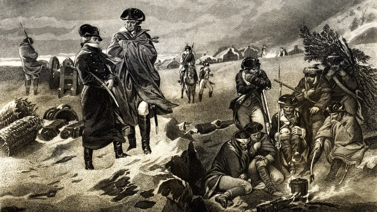 Winter at Valley Forge: George Washington's Most Dismal Christmas Ever