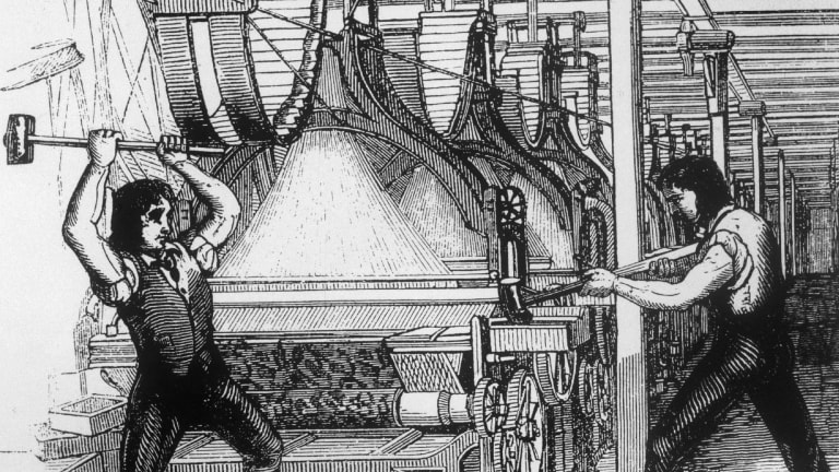 The Original Luddites Raged Against the Machine of the Industrial Revolution