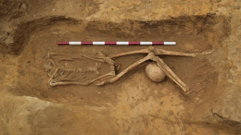 Mysterious Decapitated Skeletons Found in Roman Grave