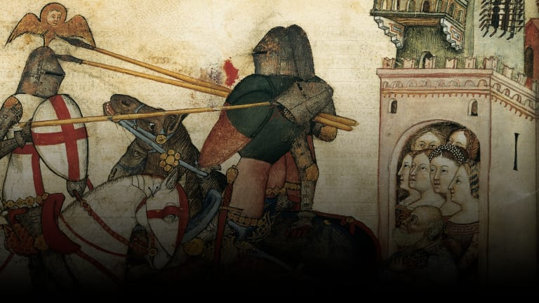 Chivalry Was Established to Keep Thuggish, Medieval Knights in Check
