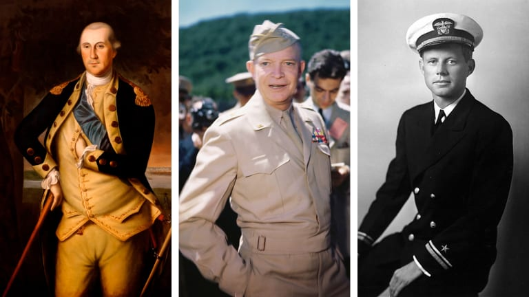 See Photos of 20 U.S. Presidents Who Served in the Military—in Uniform