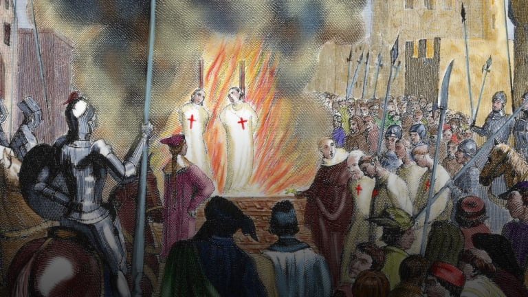 Why the Knights Templar Gave False Confessions of Depravity