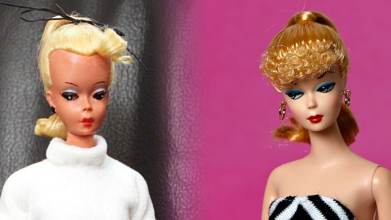 Barbie's Secret Sister Was a Sexy German Novelty Doll