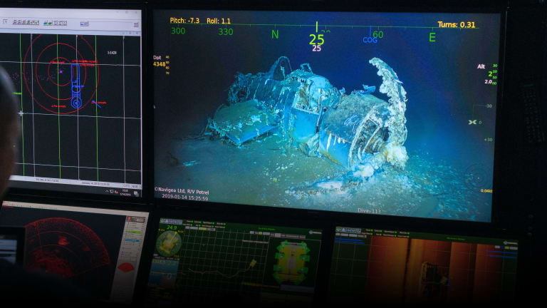WWII Wreck Found of USS Wasp, Where 176 Died After Torpedo Attack