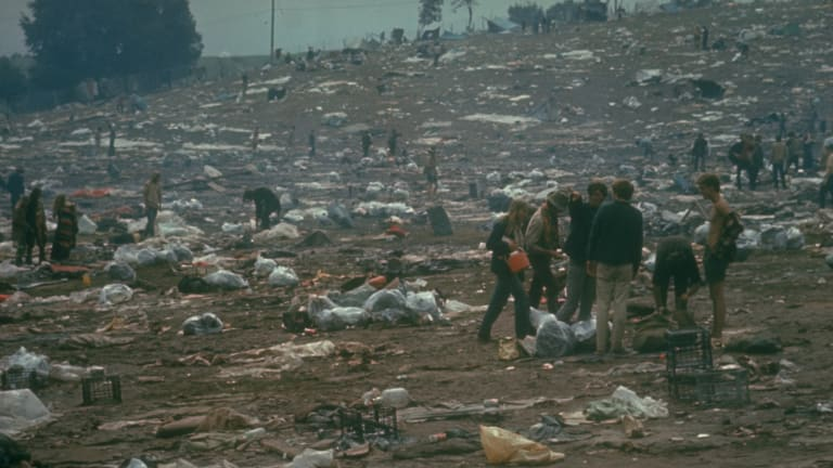 Woodstock, the Legendary 1969 Festival, Was Also a Miserable Mud Pit