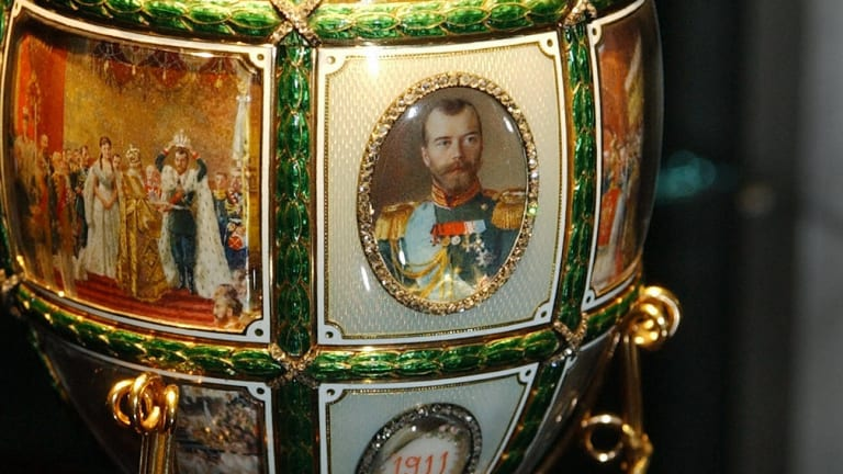The Mysterious Fate of the Romanov Family's Prized Easter Egg Collection