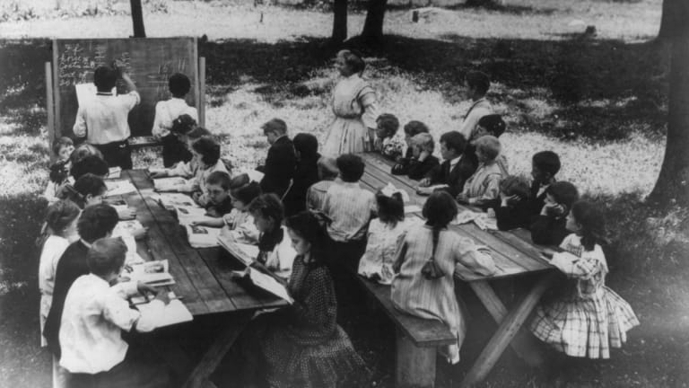 When Fears of Tuberculosis Drove an Open-Air School Movement