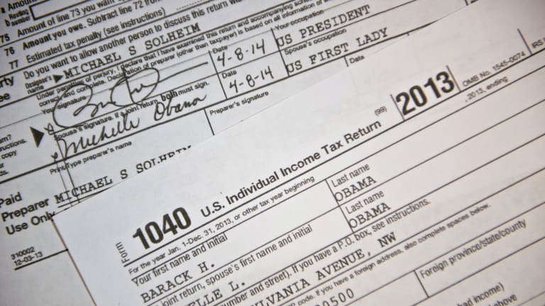 6 Surprising Facts Found in Presidential Tax Returns Through History