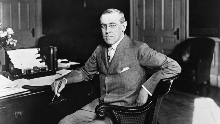 Woodrow Wilson Got the Flu in a Pandemic During the World War I Peace Talks