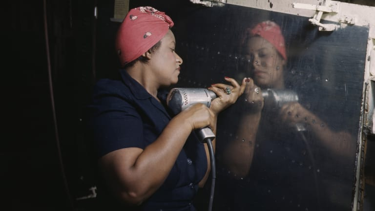 'Black Rosies': The Forgotten African American Heroines of the WWII Homefront