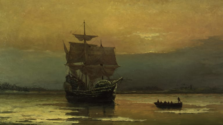 The Pilgrims' Miserable Journey Aboard the Mayflower