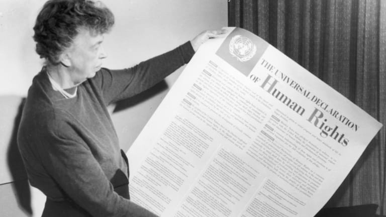 How Eleanor Roosevelt Pushed for a Universal Declaration of Human Rights