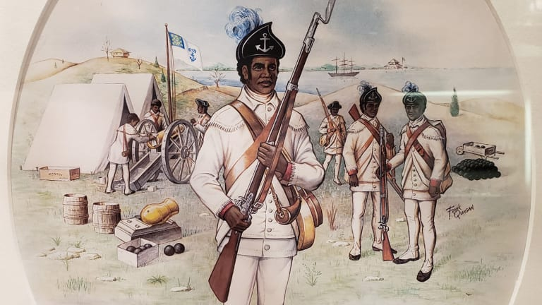 America's First Black Regiment Gained Their Freedom by Fighting Against the British