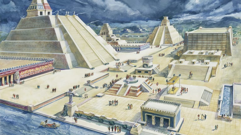 How the Aztec Empire Was Forged Through a Triple Alliance