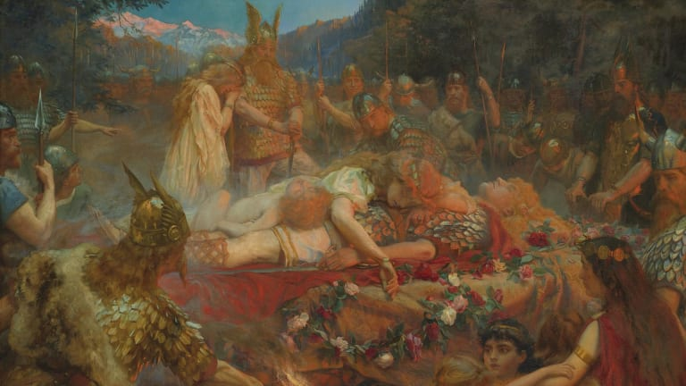 Valhalla: How Viking Belief in a Glorious Afterlife Empowered Warriors