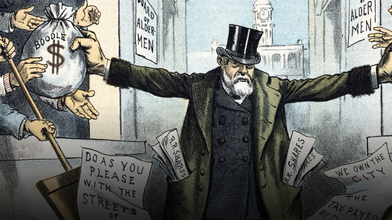 How the Gilded Age's Top 1 Percent Thrived on Corruption