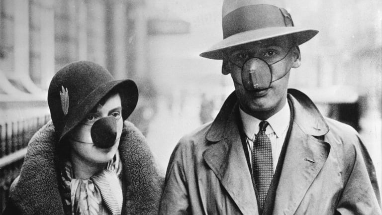 Photos: Innovative Ways People Tried to Protect Themselves From the Flu