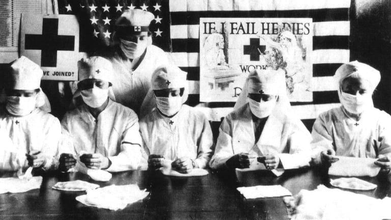 How U.S. Cities Tried to Halt the Spread of the 1918 Spanish Flu