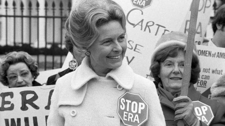 How Phyllis Schlafly Derailed the Equal Rights Amendment