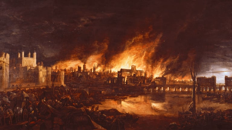 When London Faced a Pandemic—And a Devastating Fire
