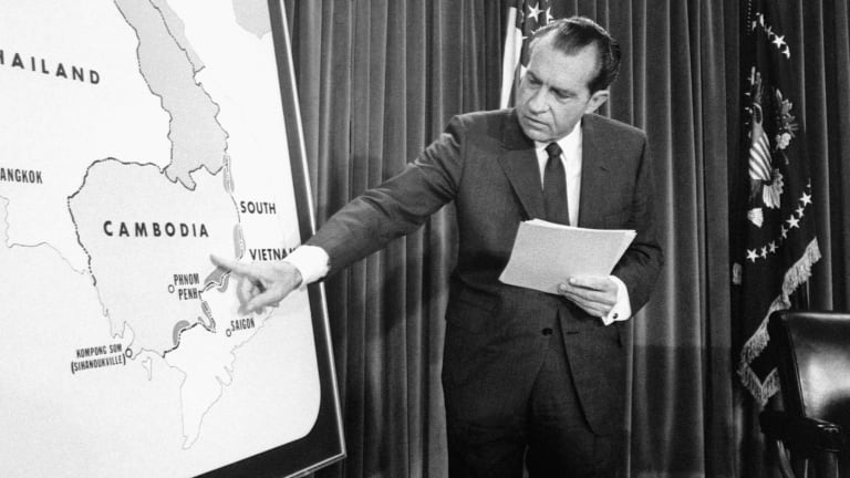 How Nixon's Invasion of Cambodia Triggered a Check on Presidential Power