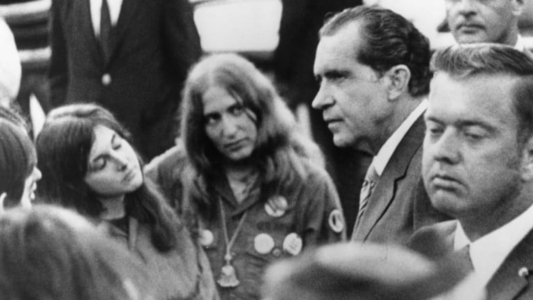 How Nixon's Presidency Became Increasingly Erratic After Kent State