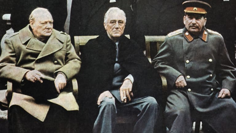 FDR, Churchill and Stalin: Inside Their Uneasy WWII Alliance