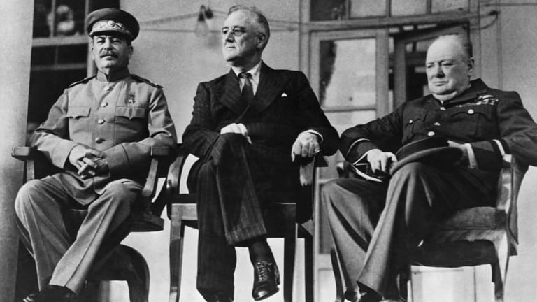 How the WWII Tehran Conference Tested the Unity of the 'Big Three' Allies