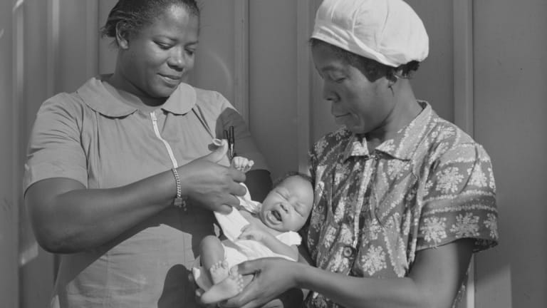 The US Funded Universal Childcare During World War II—Then Stopped