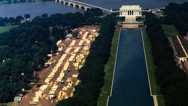 When Protesters Occupied D.C. for Six Muddy Weeks to Demand Economic Justice
