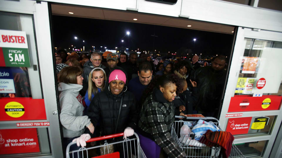 A Visual History of Black Friday: From Financial Crash to Shopping Mania