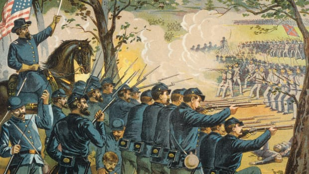 The events of the battle of gettysburg