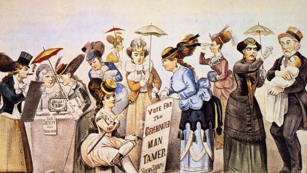 womens suffrage movement timeline