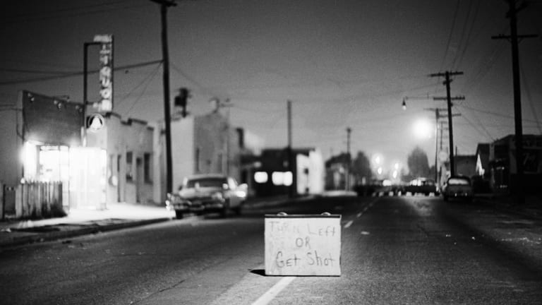 watts riots pictures