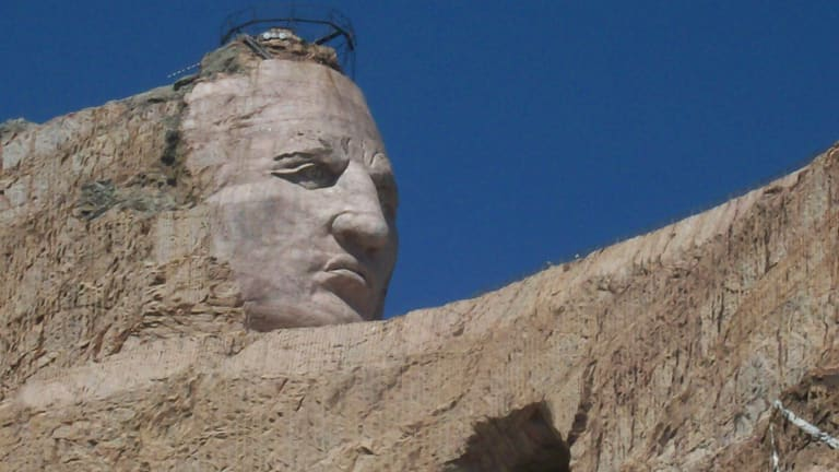 The Legend of Crazy Horse:Most legends are written about people after they have died