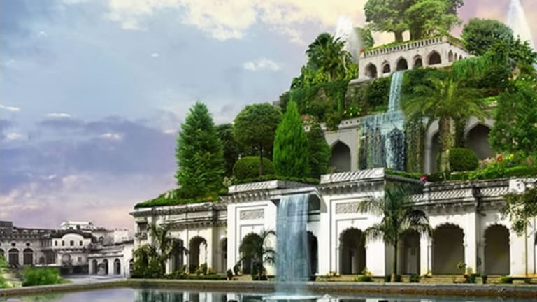 hanging gardens of babylon now