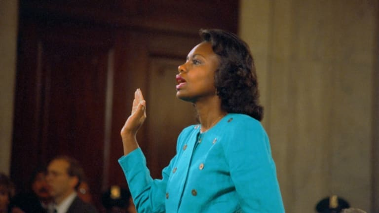 Anita hill and sexual harassment