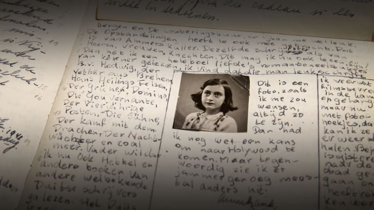 anne frank conflict essay