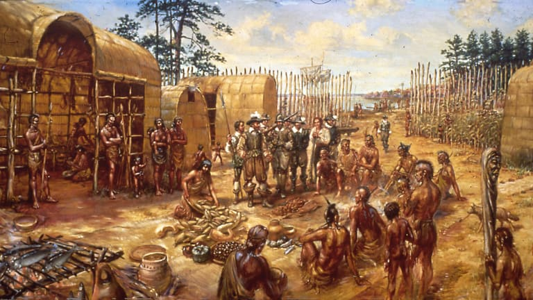 with regards to the indians, the first settlers were instructed to