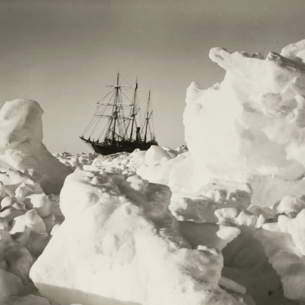 The 'Endurance' Imperial Trans-Antarctic Expedition, 1914-17, led by Ernest Shackleton