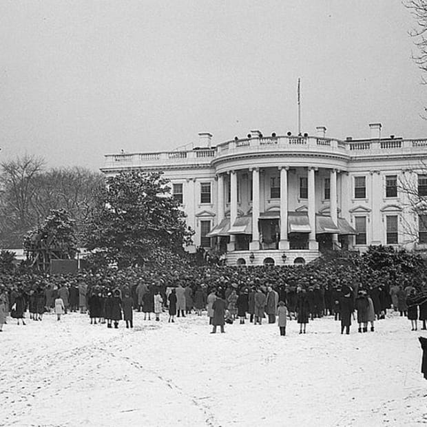 When World War II Forced a Scaled-Down Presidential Inauguration, FDR's Fourth Inauguration, 1945