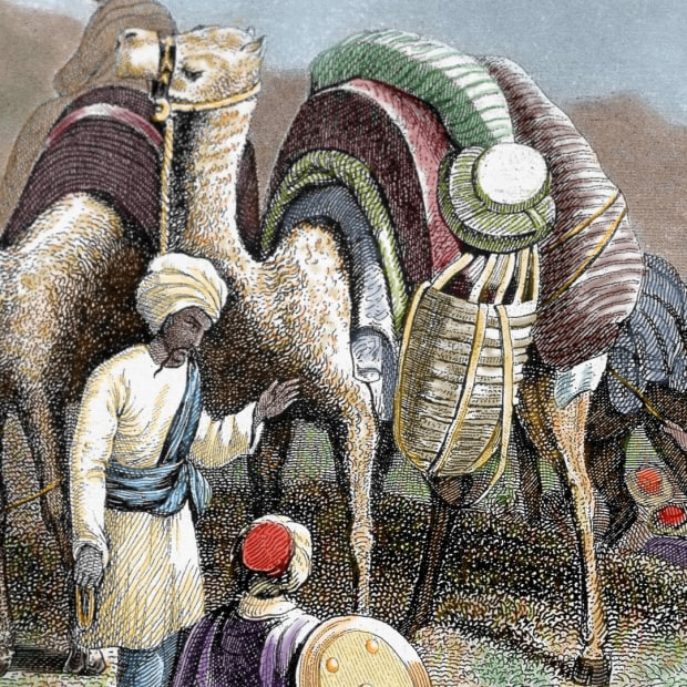 8 Goods Traded Along the Silk Road
