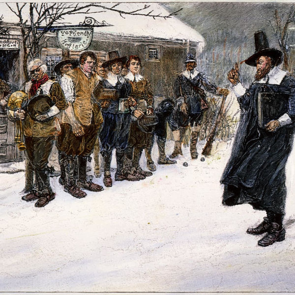 When Massachusetts Banned Christmas - HISTORY