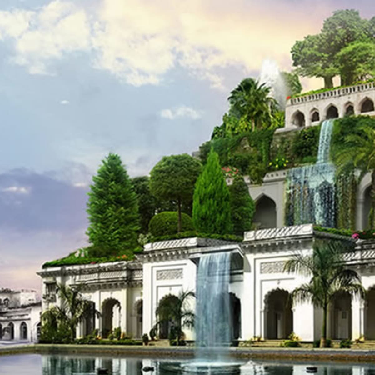 Hanging Gardens Existed But Not In Babylon History