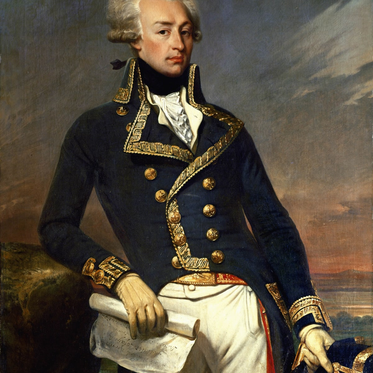 Major General in the Revolutionary War Continental Army Marquis de Lafayette