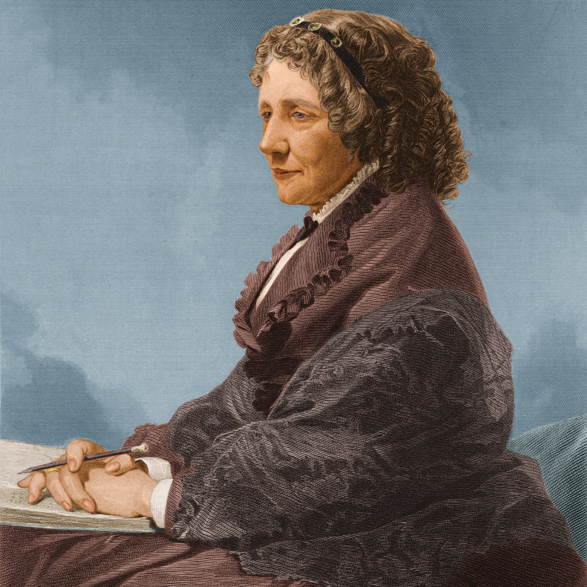Harriet Beecher Stowe - HISTORY