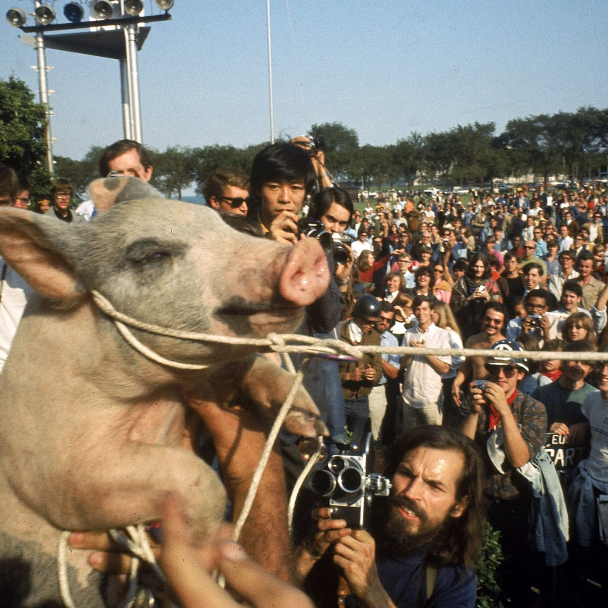 At the 1968 DNC, Yippies Found Their Voice - HISTORY